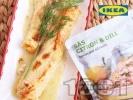 Рецепта Сьомга на фурна с копър и лимонов сос